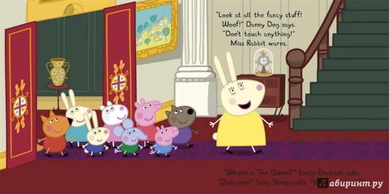 Иллюстрация 1 из 2 для Peppa Meets The Queen | Лабиринт - книги. Источник: Лабиринт