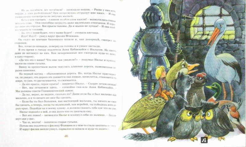 Иллюстрация 1 из 28 для Чудесное путешествие Нильса с дикими гусями - Сельма Лагерлеф | Лабиринт - книги. Источник: Лабиринт
