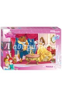 Step Puzzle-260 Disney. Красавица и Чудовище (95040) пазлы 54disneyсамолёты step puzzle эль чу над пирамидами