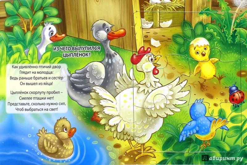 Иллюстрация 1 из 11 для Пазл с замком. Зверушки - Наталья Ушкина   Лабиринт - книги. Источник: Лабиринт