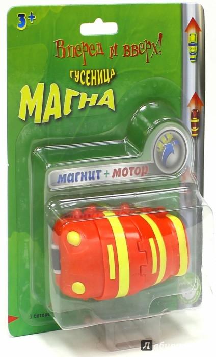 Иллюстрация 1 из 2 для Гусеница Магна красная (MM 8930R) | Лабиринт - игрушки. Источник: Лабиринт