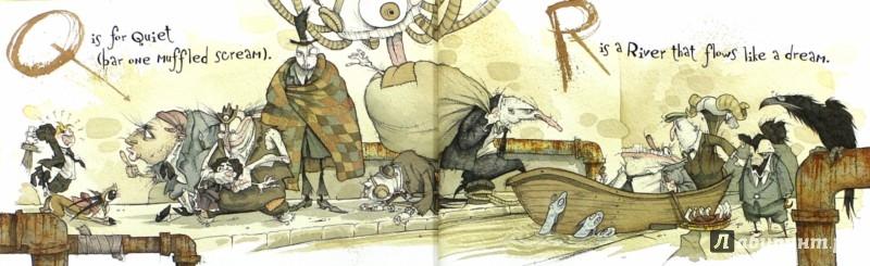 Иллюстрация 1 из 3 для The Dangerous Alphabet - Neil Gaiman | Лабиринт - книги. Источник: Лабиринт