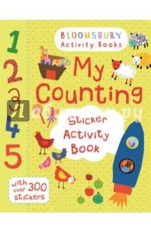 My Counting Sticker Activity Book my opposites sticker activity book