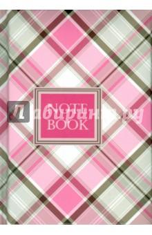 Записная книжка КЛЕТКА СЕРО-РОЗОВАЯ (98x135мм, 200 листов) (35465) записная книжка 200 листов ноутбук фламинго 42668