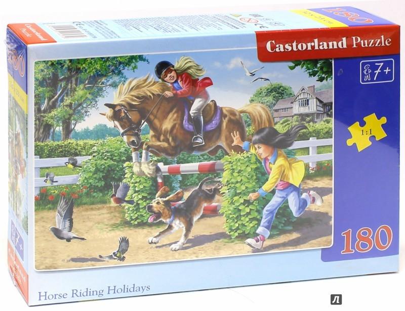 """Иллюстрация 1 из 3 для Puzzle-180 """"Верховая езда"""" (В-018079)   Лабиринт - игрушки. Источник: Лабиринт"""