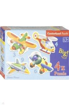 "Puzzle-3х4х6х9 ""Смешные самолеты"" (В-005048)"