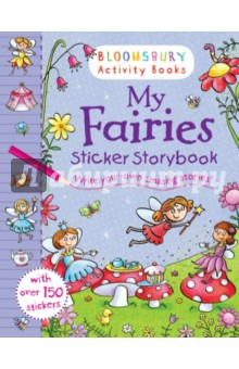 My Fairies Sticker Storybook write your own book