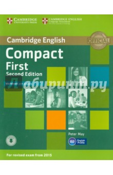 Compact First. Workbook with Answers. Second Edition clyde l dodgson l harwood d first buster preparation course for the cambridge english first fce for schools student s book with 3 practice tests 3cd