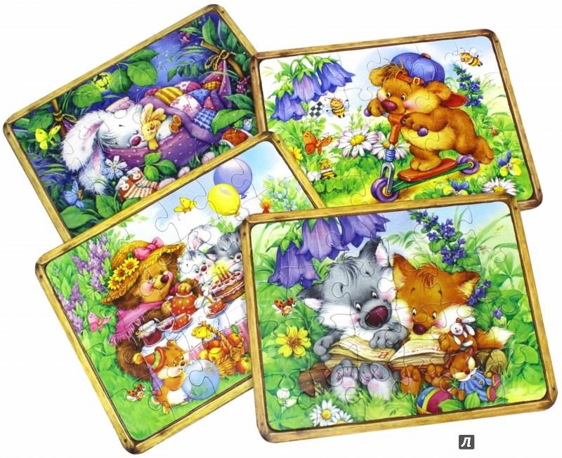 Иллюстрация 1 из 13 для Сказочные пазлы. Чудо-чемоданчик. Зеленый | Лабиринт - игрушки. Источник: Лабиринт