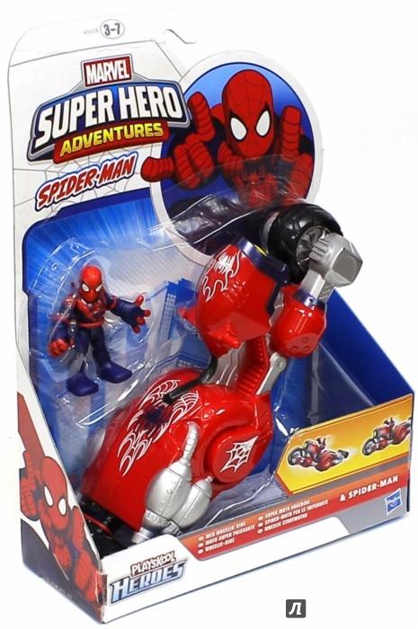 Иллюстрация 1 из 4 для Фигурка Человека Паука + транспортное средство (А5658) | Лабиринт - игрушки. Источник: Лабиринт