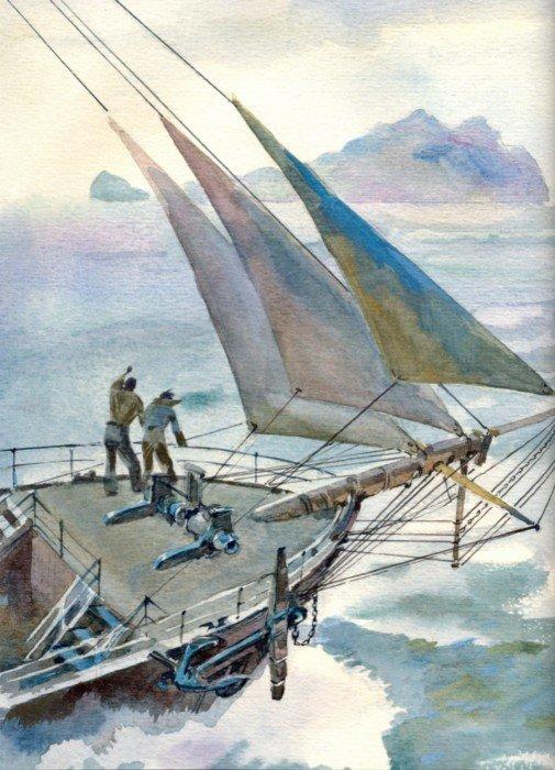 Иллюстрация 1 из 55 для Пятнадцатилетний капитан - Жюль Верн | Лабиринт - книги. Источник: Лабиринт