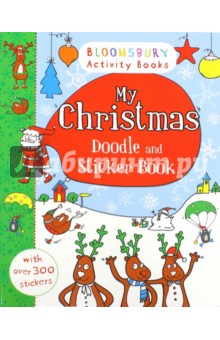 My Christmas Doodle and Sticker Book write your own book