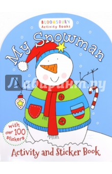 My Snowman Activity Sticker Book my opposites sticker activity book