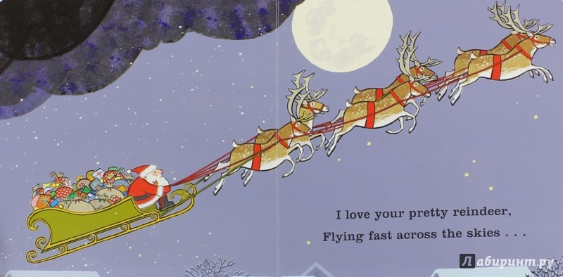 Иллюстрация 1 из 11 для I Love You, Father Christmas (board book) - Giles Andreae | Лабиринт - книги. Источник: Лабиринт