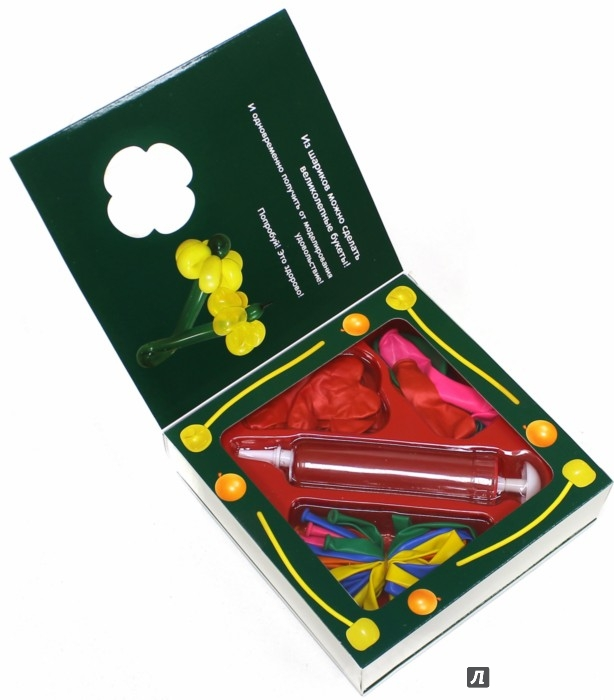 Иллюстрация 1 из 14 для Цветы и букеты из воздушных шариков | Лабиринт - игрушки. Источник: Лабиринт