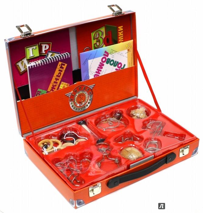 Иллюстрация 1 из 5 для Чемодан головоломок | Лабиринт - игрушки. Источник: Лабиринт