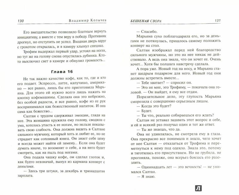 Иллюстрация 1 из 46 для Бешеная свора - Владимир Колычев | Лабиринт - книги. Источник: Лабиринт