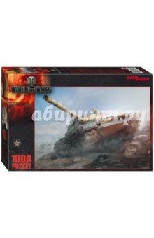 Step Puzzle-1000 World of Tanks (79604) пазлы step puzzle пазл world of tanks 260 элементов