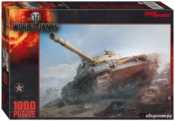 "Иллюстрация 1 из 3 для Step Puzzle-1000 ""World of Tanks"" (79604) 