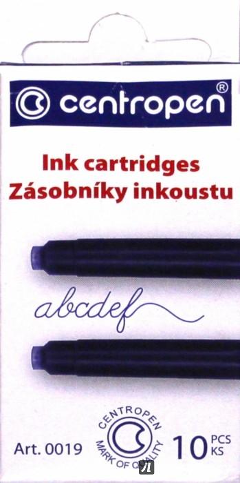 Иллюстрация 1 из 5 для Баллончики для перьевой ручки (10штук/упаковка, синие) (00191001) | Лабиринт - канцтовы. Источник: Лабиринт