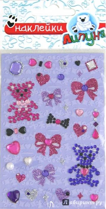 Иллюстрация 1 из 4 для Хрустальные наклейки Мишки 2 (RSS014) | Лабиринт - игрушки. Источник: Лабиринт