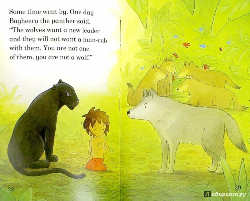 Иллюстрация 1 из 18 для The Jungle Book - Jillian Powell | Лабиринт - книги. Источник: Лабиринт