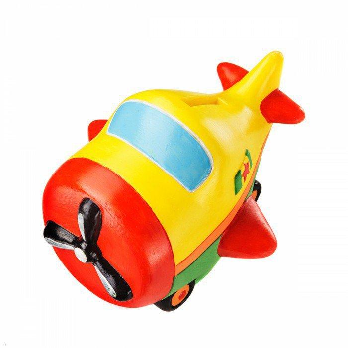 Иллюстрация 1 из 3 для Копилка-раскраска. Самолетик (DIY016) | Лабиринт - игрушки. Источник: Лабиринт