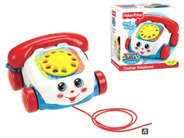 Иллюстрация 1 из 3 для Телефон  Fisher Price (77816) | Лабиринт - игрушки. Источник: Лабиринт