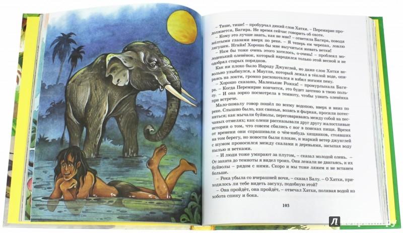 Иллюстрация 1 из 32 для Маугли - Редьярд Киплинг | Лабиринт - книги. Источник: Лабиринт