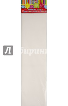 Бумага белая эластичная крепированная (арт.36435-10)