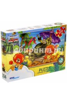 "Step Puzzle-104 ""Львёнок и черепаха"" (82028)"