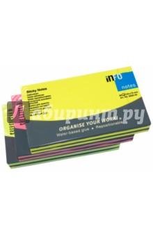 Блок-кубик для заметок 125х75 мм., 80 листов, цвет в ассортименте, поштучно (5855-21)