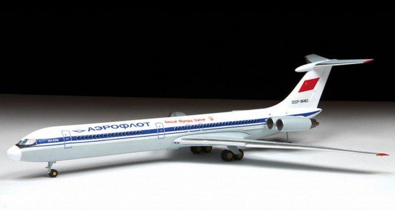 Иллюстрация 1 из 5 для Пассажирский авиалайнер Ил-62М (7013П) | Лабиринт - игрушки. Источник: Лабиринт