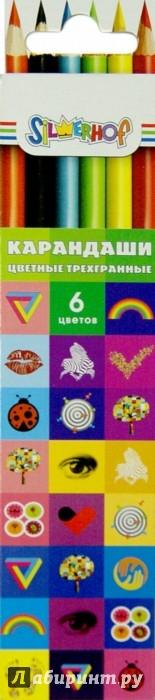 Иллюстрация 1 из 11 для Карандаши трехгранные EMOTIONS (6 цветов) (134190-06) | Лабиринт - канцтовы. Источник: Лабиринт