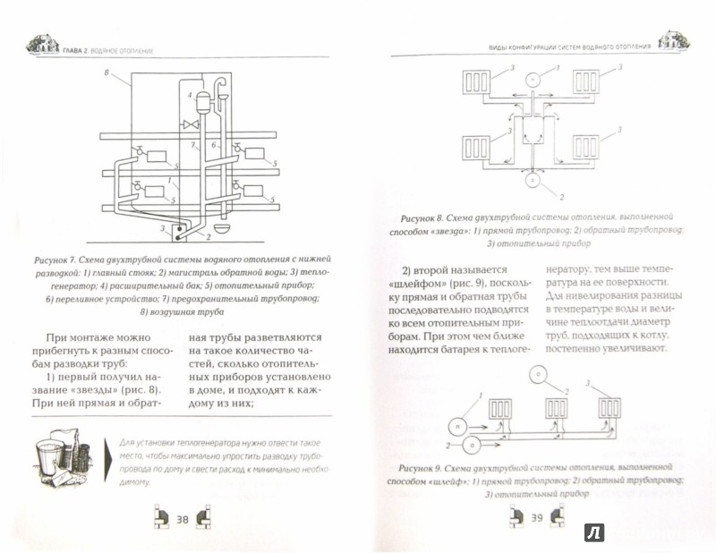 Иллюстрация 1 из 7 для Отопление загородного дома и дачи - Галина Серикова   Лабиринт - книги. Источник: Лабиринт