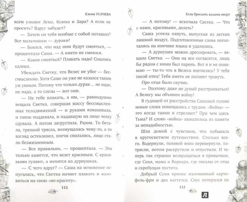 Иллюстрация 1 из 7 для Если бросить камень вверх - Елена Усачева | Лабиринт - книги. Источник: Лабиринт