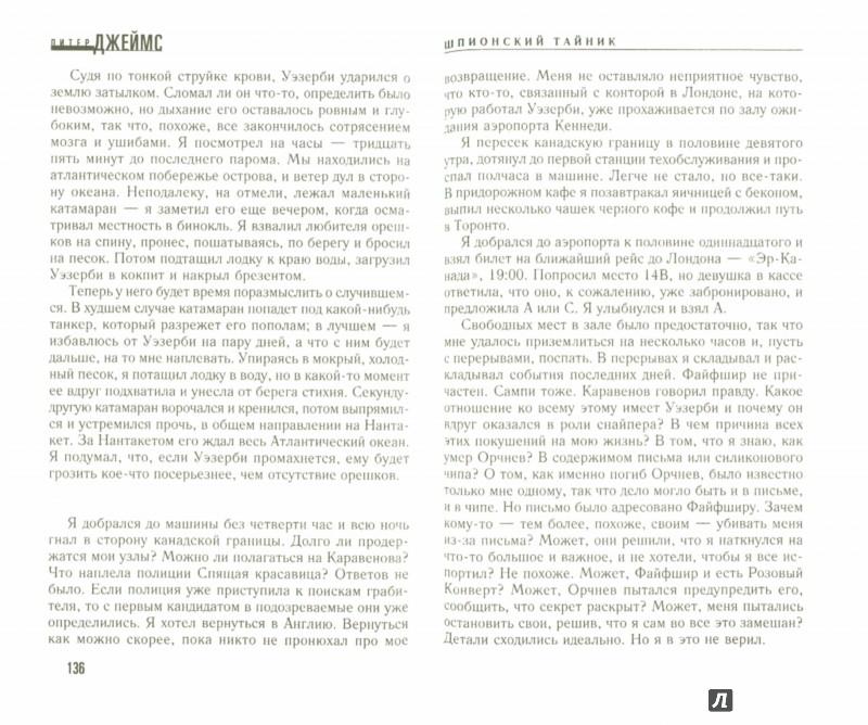 Иллюстрация 1 из 10 для Шпионский тайник - Питер Джеймс | Лабиринт - книги. Источник: Лабиринт