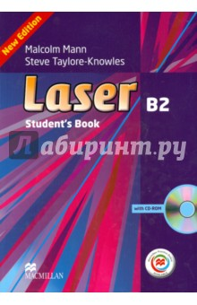 Laser 3ed B2 SB Book (+CD Rom) + MPO