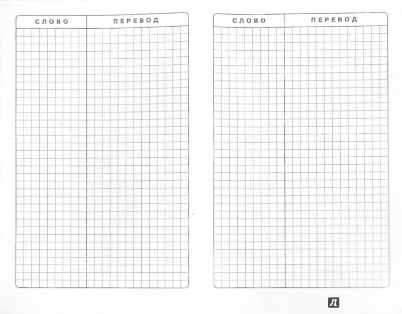 Иллюстрация 1 из 7 для Тетрадь для записи иностранных слов (Белый карандаш) | Лабиринт - канцтовы. Источник: Лабиринт