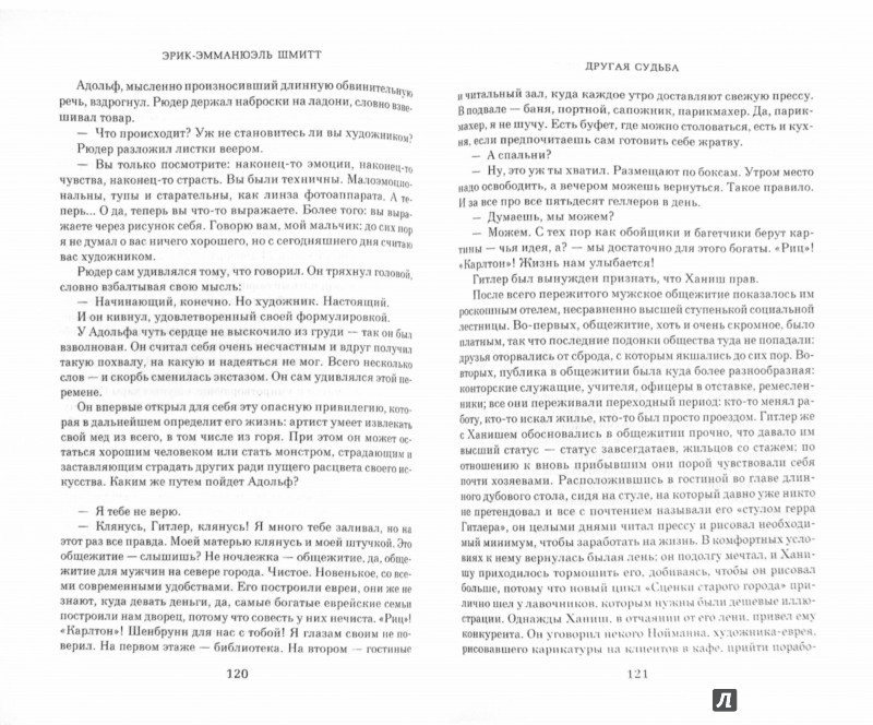 Иллюстрация 1 из 22 для Другая судьба - Эрик-Эмманюэль Шмитт | Лабиринт - книги. Источник: Лабиринт