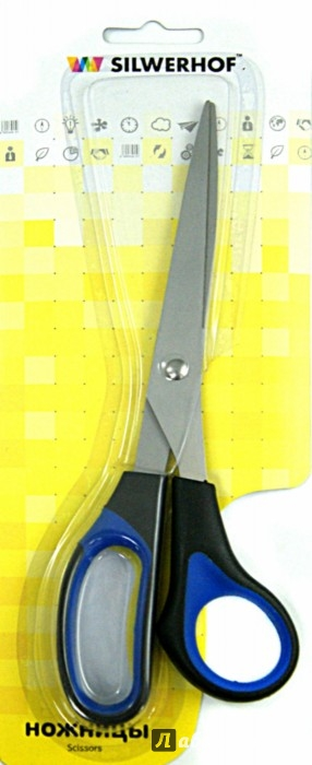 Иллюстрация 1 из 3 для Ножницы офисные. TITANLINIE. 21 см. (450057) | Лабиринт - канцтовы. Источник: Лабиринт