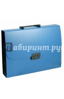 """Портфель """"Basic"""" (12 разделителей, А4, синий) (255077-02)"""