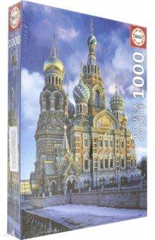 Пазл-1000 Храм Спас на Крови, Санкт-Петербург (16289) educa пазл пекарня