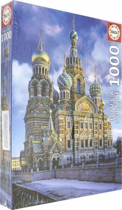 Иллюстрация 1 из 4 для Пазл-1000 Храм Спас на Крови, Санкт-Петербург (16289) | Лабиринт - игрушки. Источник: Лабиринт