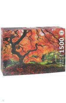 Пазл-1500 Осень в японском саду (16310) educa пазл пекарня