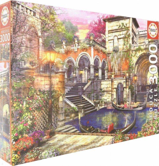 """Иллюстрация 1 из 13 для Пазл-3000 """"Венецианский роман"""" (16320)   Лабиринт - игрушки. Источник: Лабиринт"""