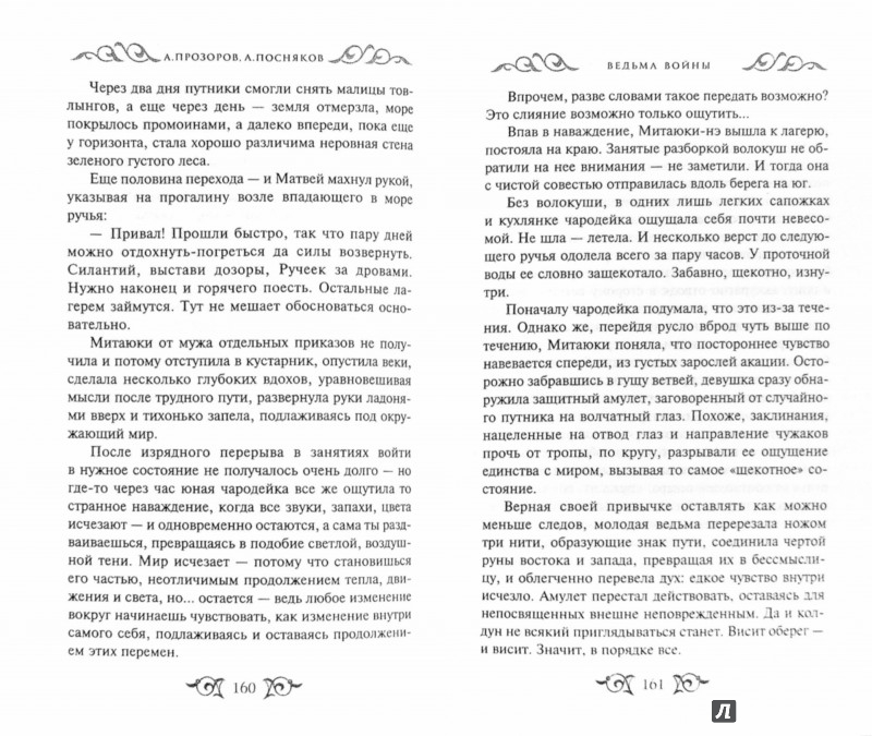 Иллюстрация 1 из 16 для Ведьма войны - Прозоров, Посняков | Лабиринт - книги. Источник: Лабиринт