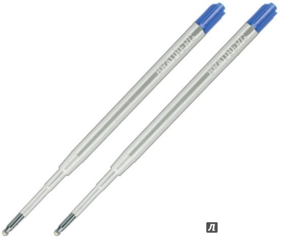 Иллюстрация 1 из 8 для Набор стержней для автоматических шариковых ручек (2 шт, 1 мм) (170194) | Лабиринт - канцтовы. Источник: Лабиринт