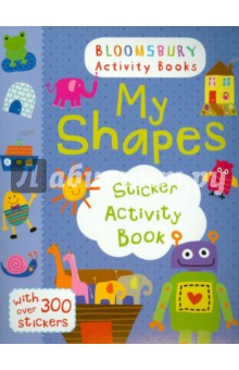 My Shapes Sticker Activity Book the usborne terrific colouring and sticker book