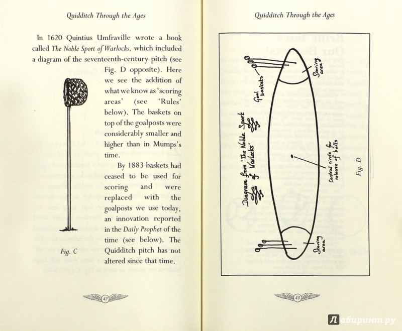 Иллюстрация 1 из 27 для Quidditch Through the Ages. Kennilworthy Whisp - Joanne Rowling | Лабиринт - книги. Источник: Лабиринт